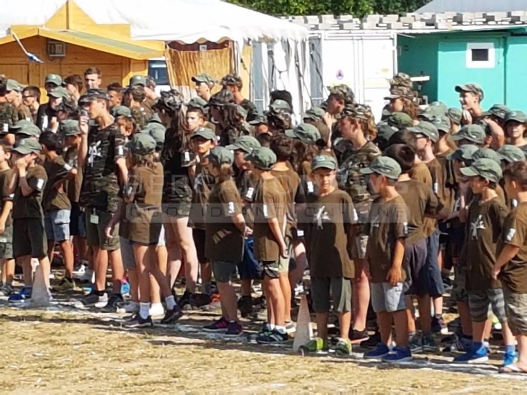 Campo scuola Alpini