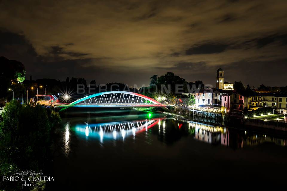 Canonica d adda che spettacolo la webcam dal ponte sul fiume adda
