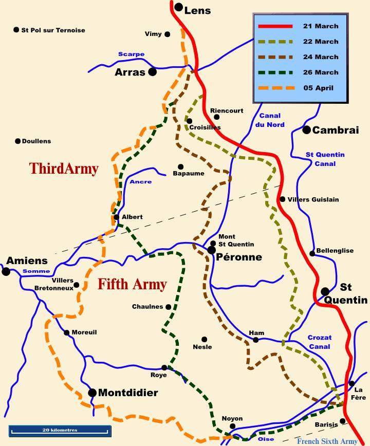 Kaiserschlacht: dall'operazione Michael a Compiègne