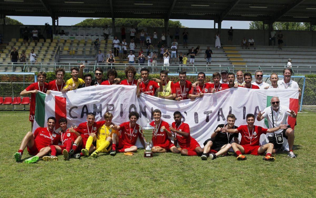 Juniores campione d'Italia