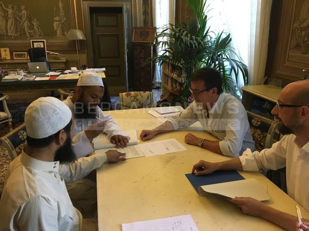 Bergamo, patto con l'Islam