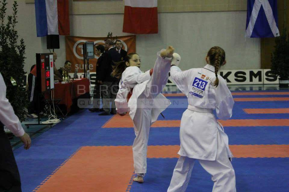 Valeria Gazzaniga star del Karate