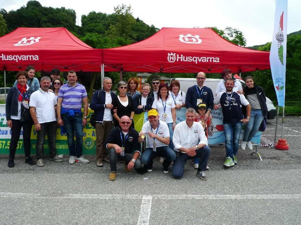 Raduno di moto d'epoca con tour panoramico a Zogno