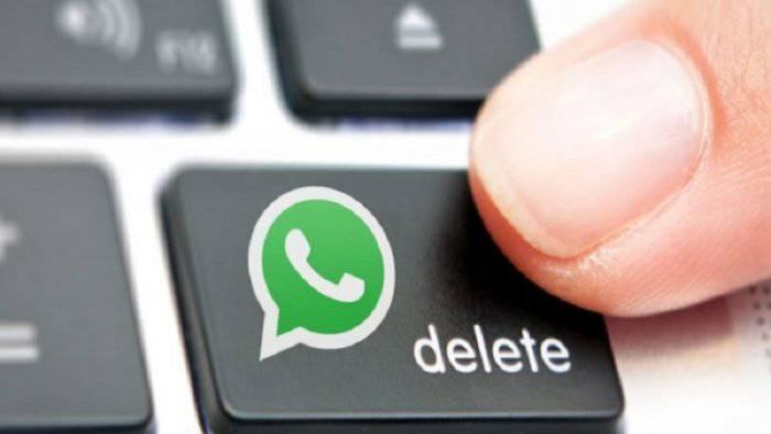 whatsapp cancella