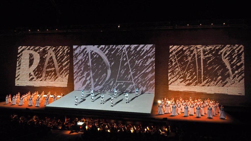 Aida regia di Francesco Micheli