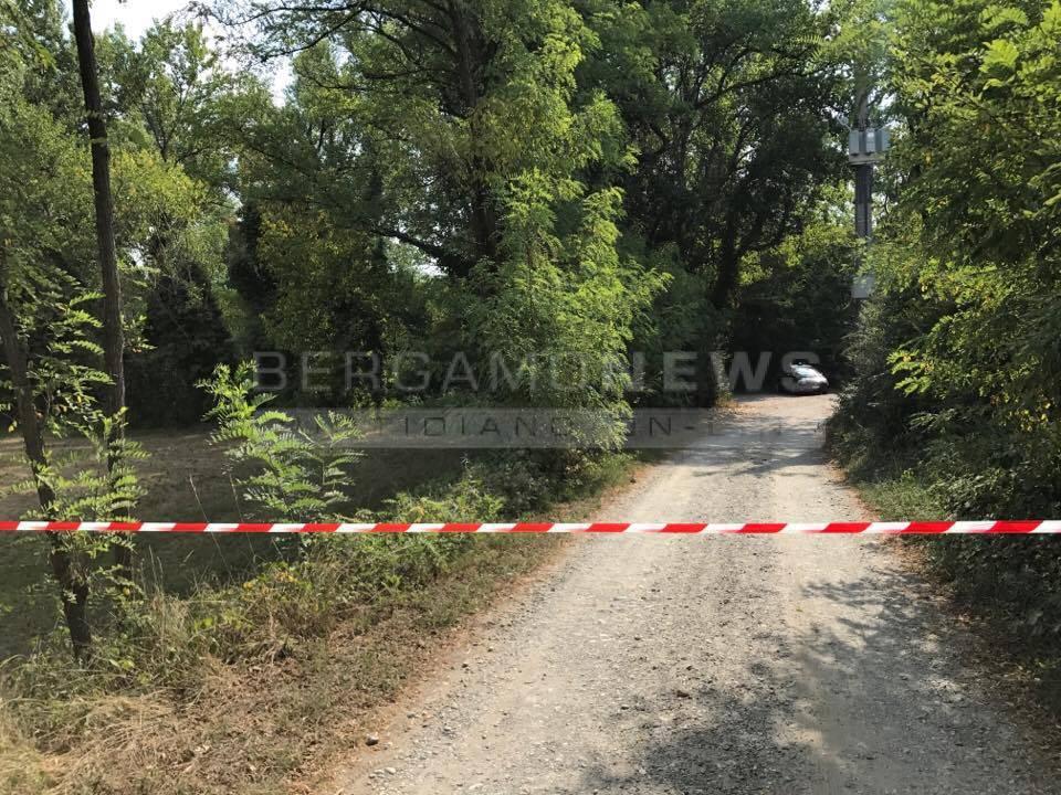 Bariano, il luogo del duplice omicidio