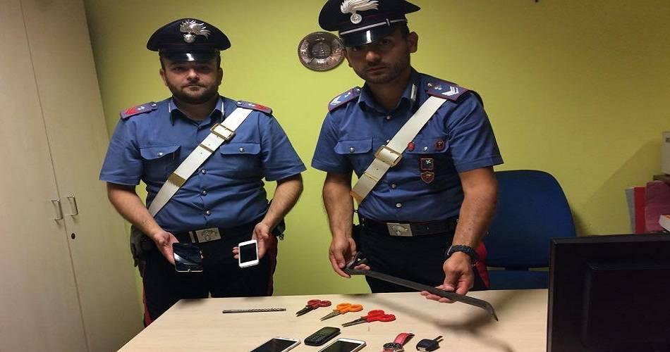 carabinieri furto chignolo