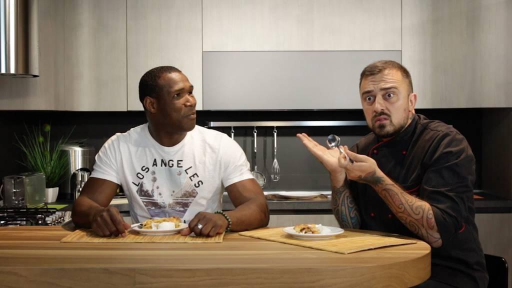 Oney Tapia e Chef Rubio