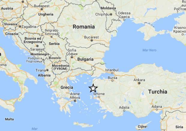 terremoto kos
