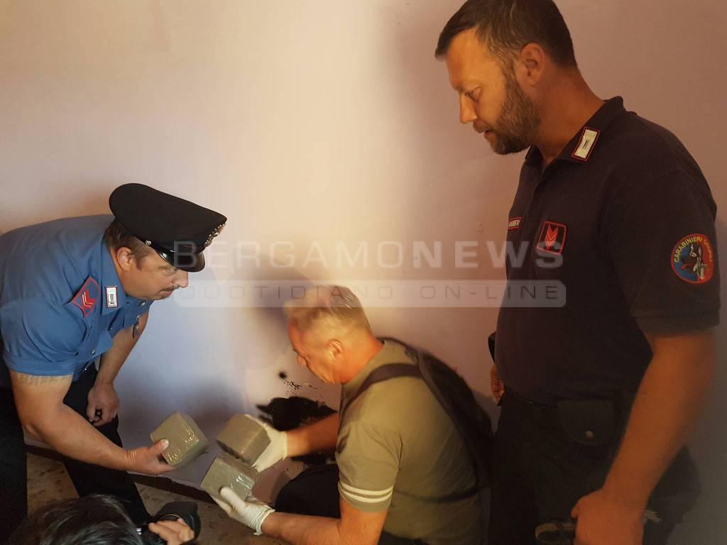 zingonia carabinieri droga