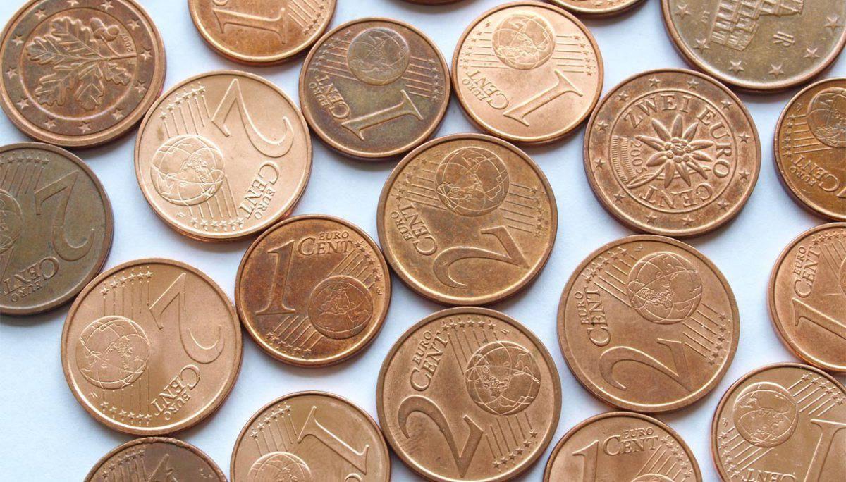 Dietrofront, restano le monete da 1 e 2 centesimi
