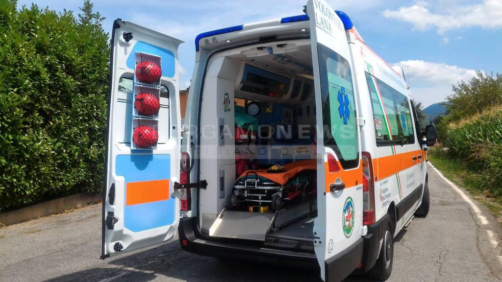 Elisoccorso ambulanza Rovetta