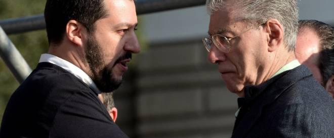Salvini e Bossi