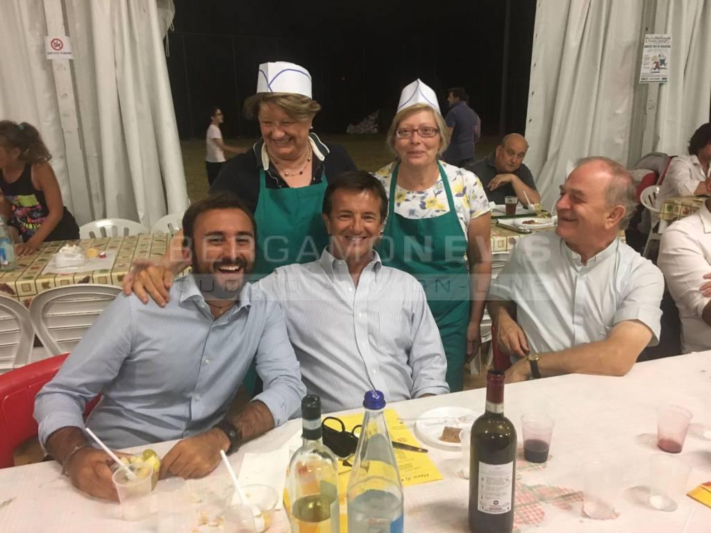 Giorgio Gori alla festa di Valverde