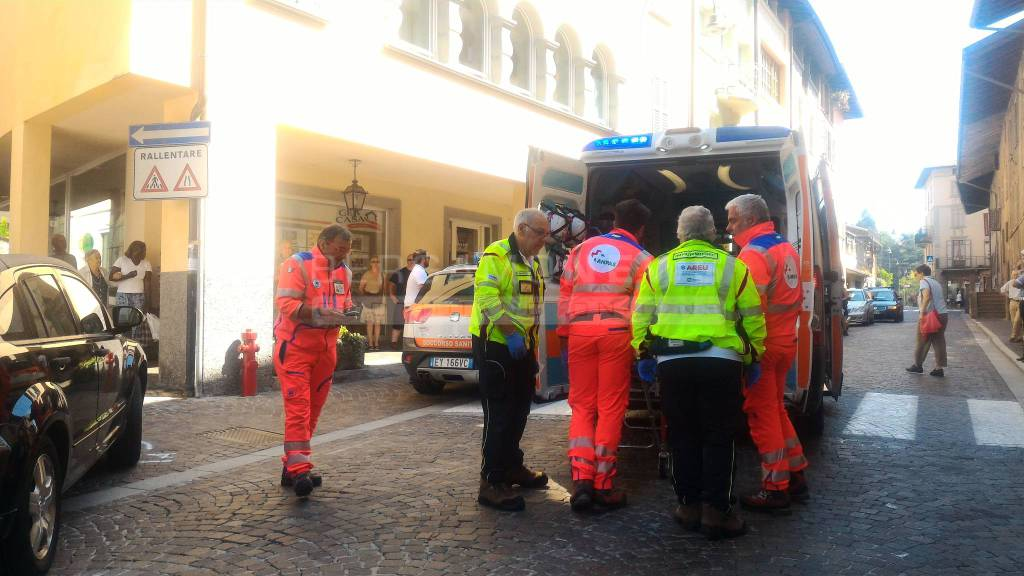 Incidente a Rovetta: ferita una donna