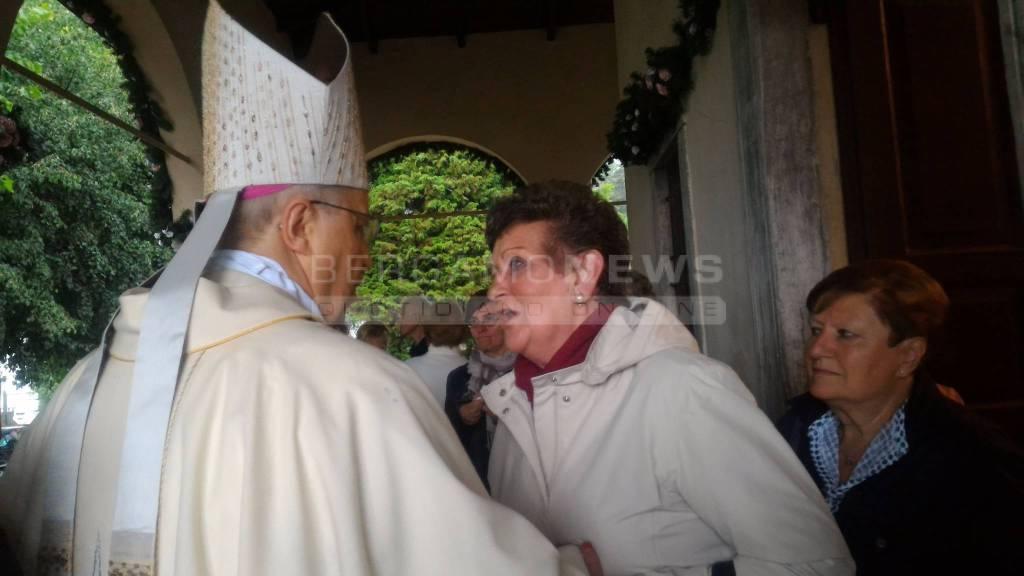 L'arrivo del Vescovo