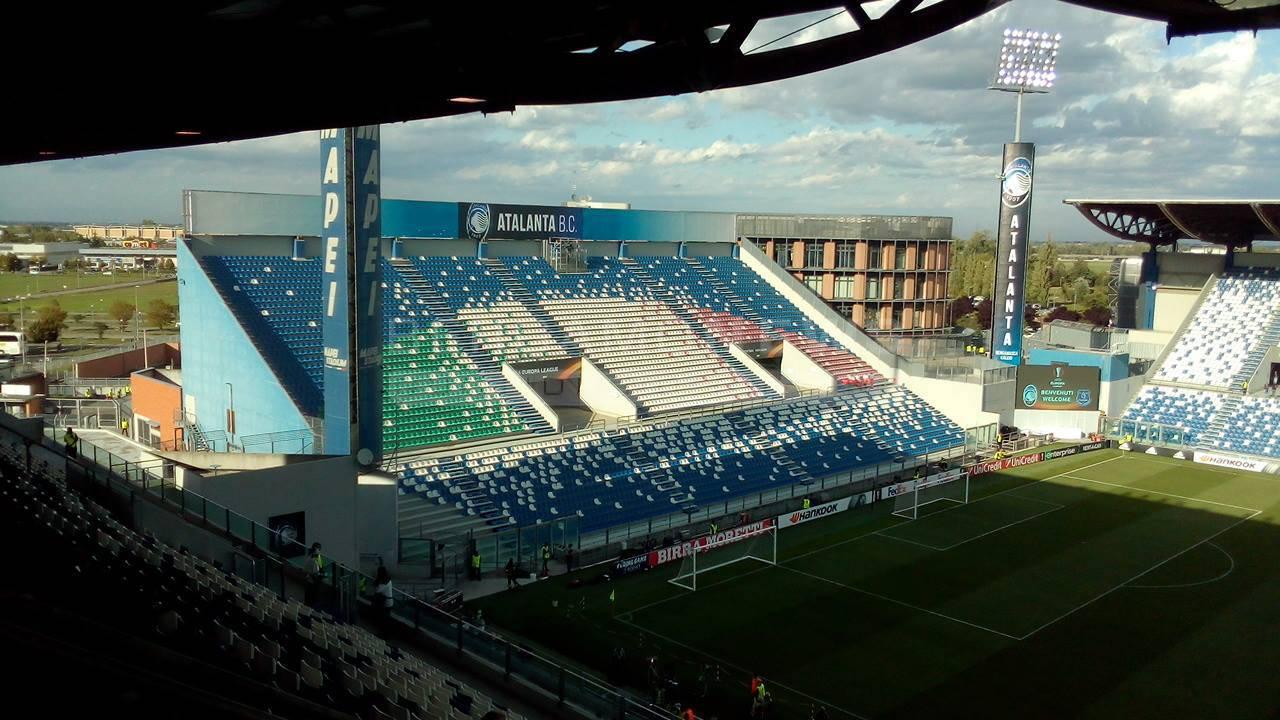 Atalanta-Everton, il Mapei Stadium è nerazzurro
