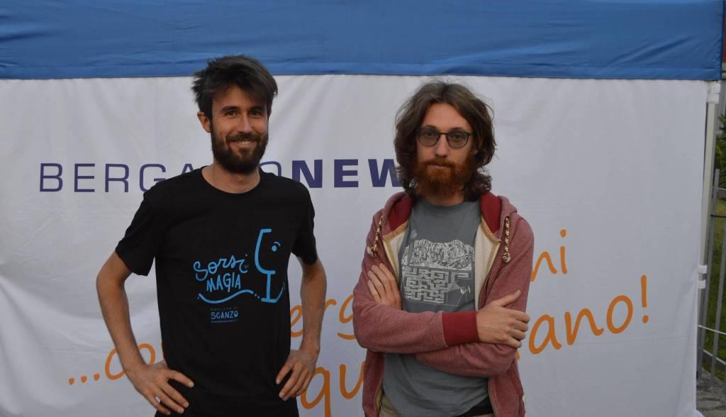 Damiano Fustinoni e Marco Ronzoni di Sotto alt(r)a quota