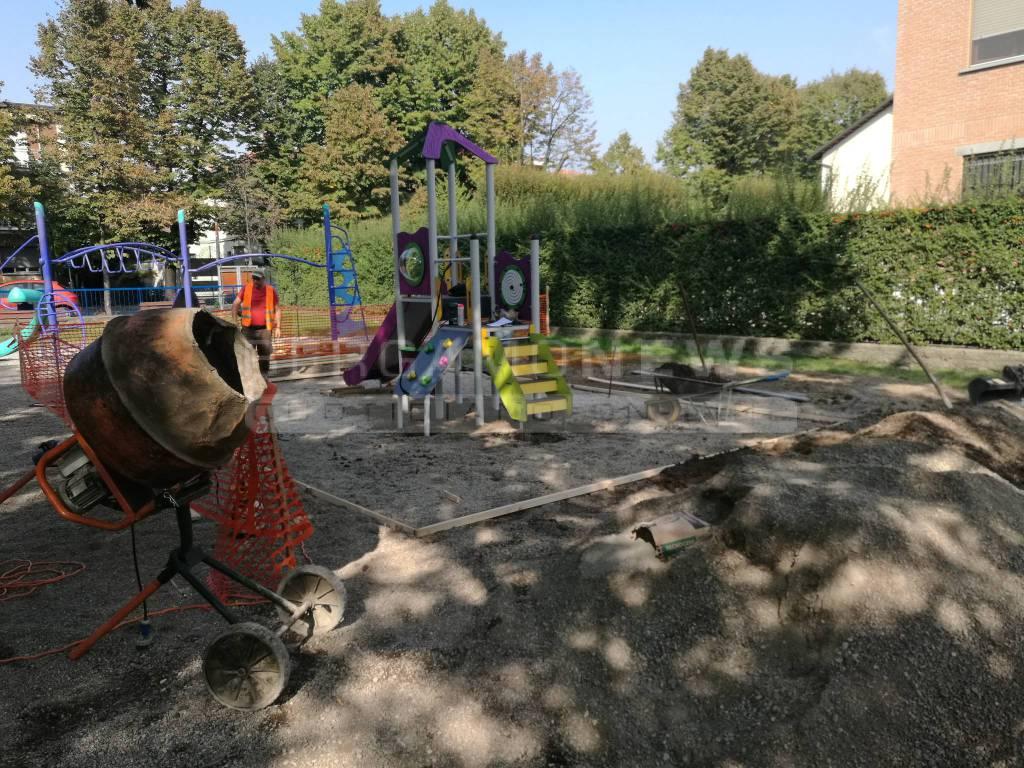 55e9c23980 Treviglio, i parco giochi si rifanno il look: investimenti per ...