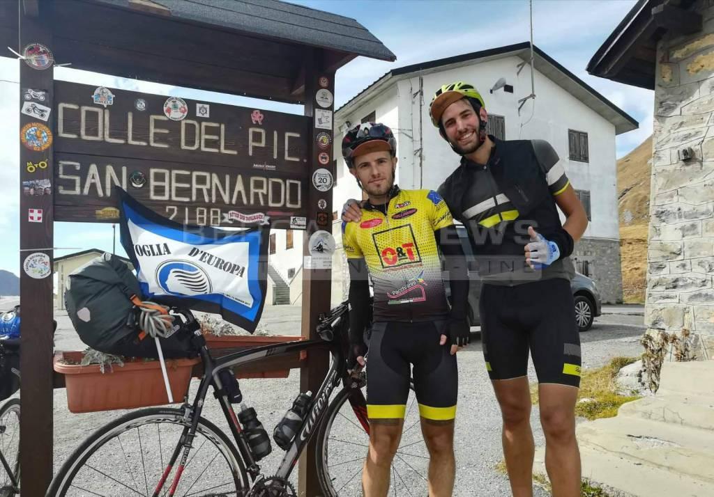 In bici da Bergamo a Lione