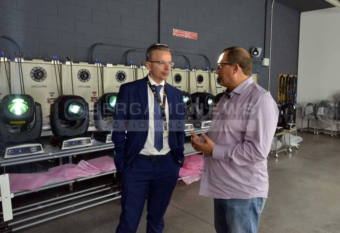 Il direttore di Federmeccanica in visita ad alcune aziende bergamasche