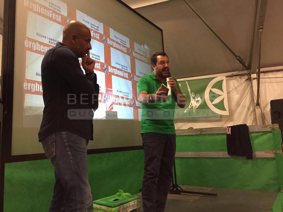 Salvini alla Bérghem Fest