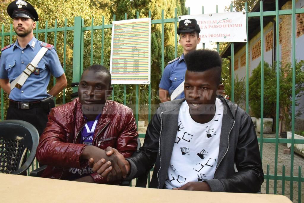 Violenza di Fontanella, parlano i due profughi