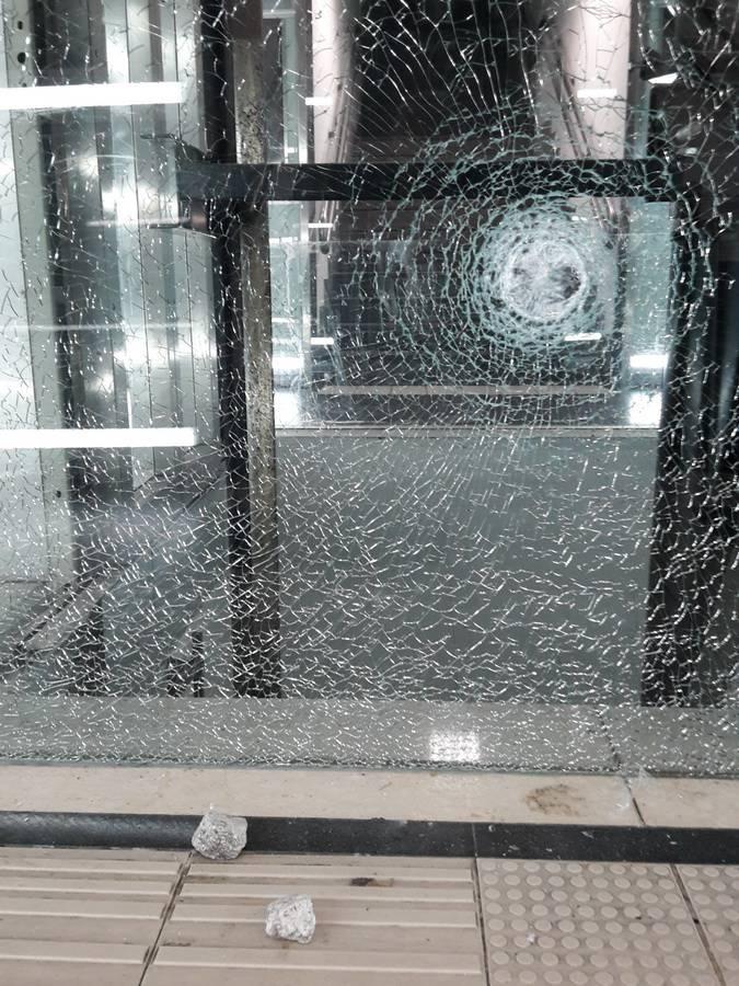 Ascensori della stazione danneggiati