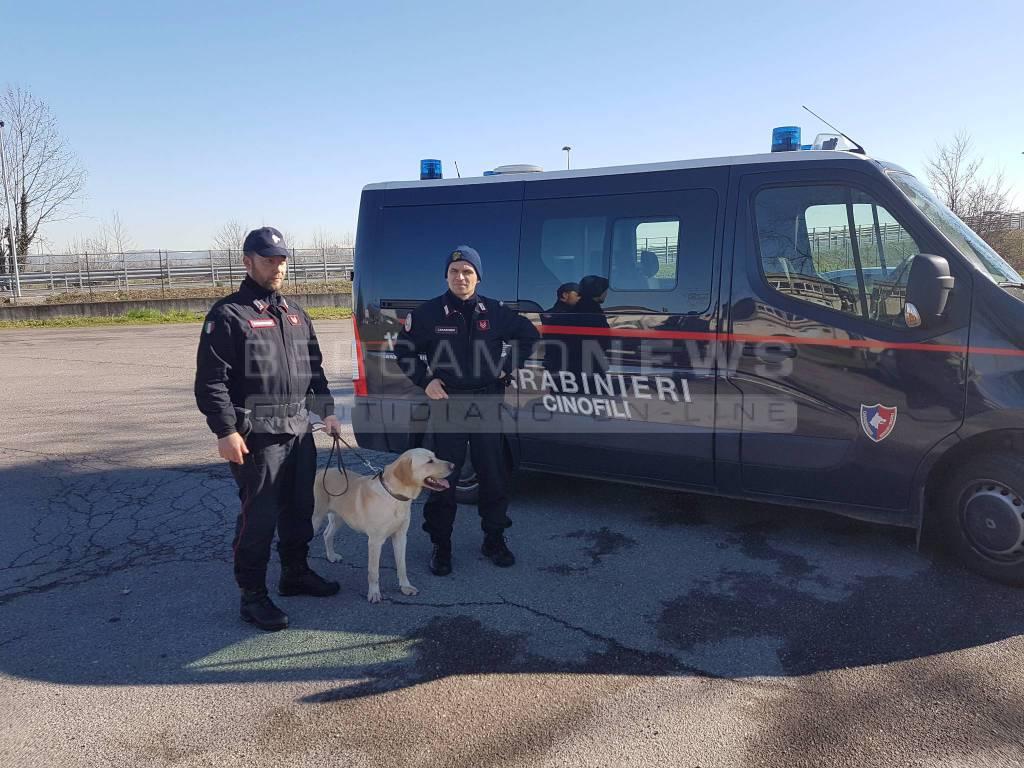 carabinieri controlli anti droga