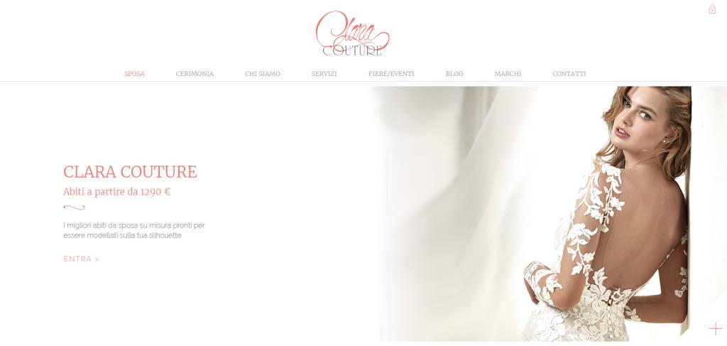 finest selection d9a72 1db82 Clara Couture, una app per scegliere l'abito da sposa ...