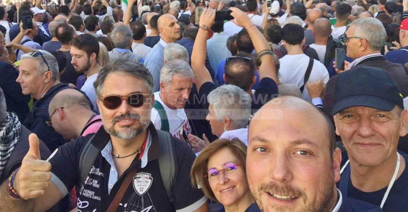 M5S in piazza a Roma
