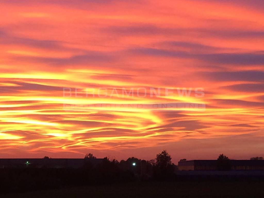 Quando il cielo diventa arte ecco il perch dei colori - Immagine del mouse a colori ...