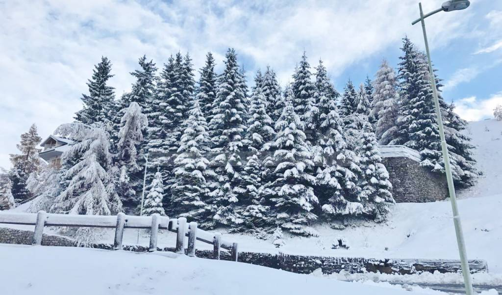 A Foppolo torna la neve