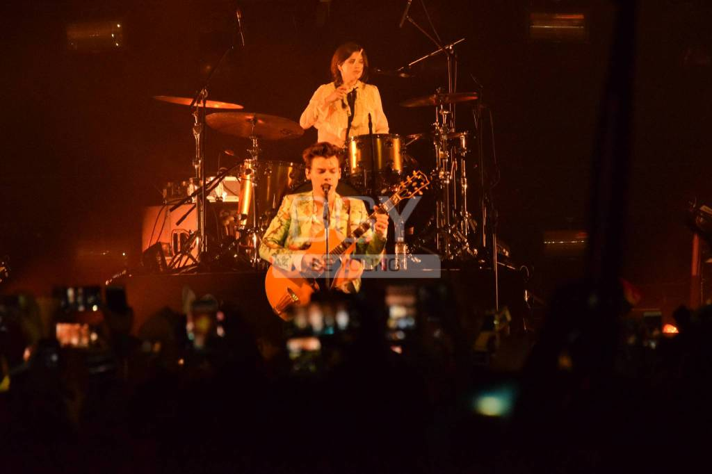 Harry Styles all'Alcatraz di Milano