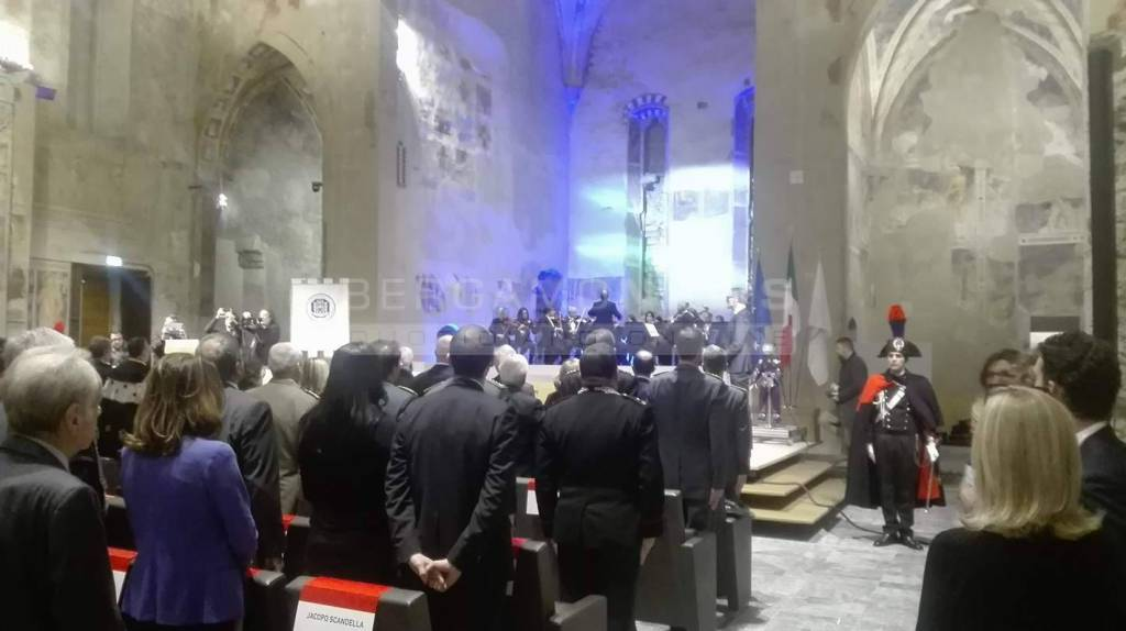 La cerimonia d'inaugurazione