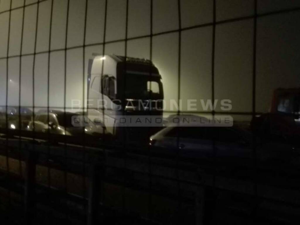 Morto autostrada Osio Sopra