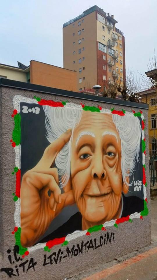 Rita Levi Montalcini, graffiti