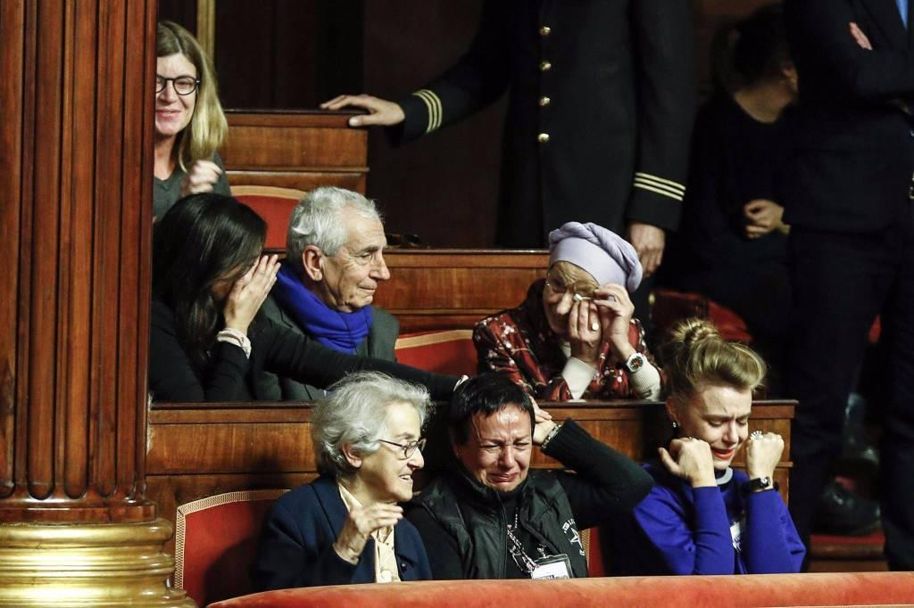 biotetsamento lacrime senato