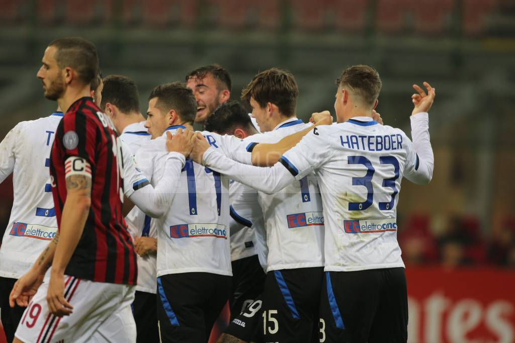 Atalanta-Milan 1-1: Masiello al 91′ replica all'ex Kessie. Rossoneri in Europa League