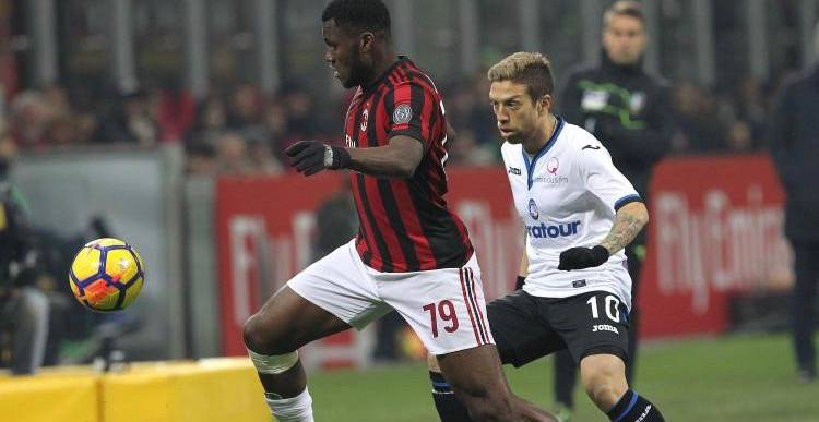 L'Atalanta travolge il Milan, termina 5 a 0