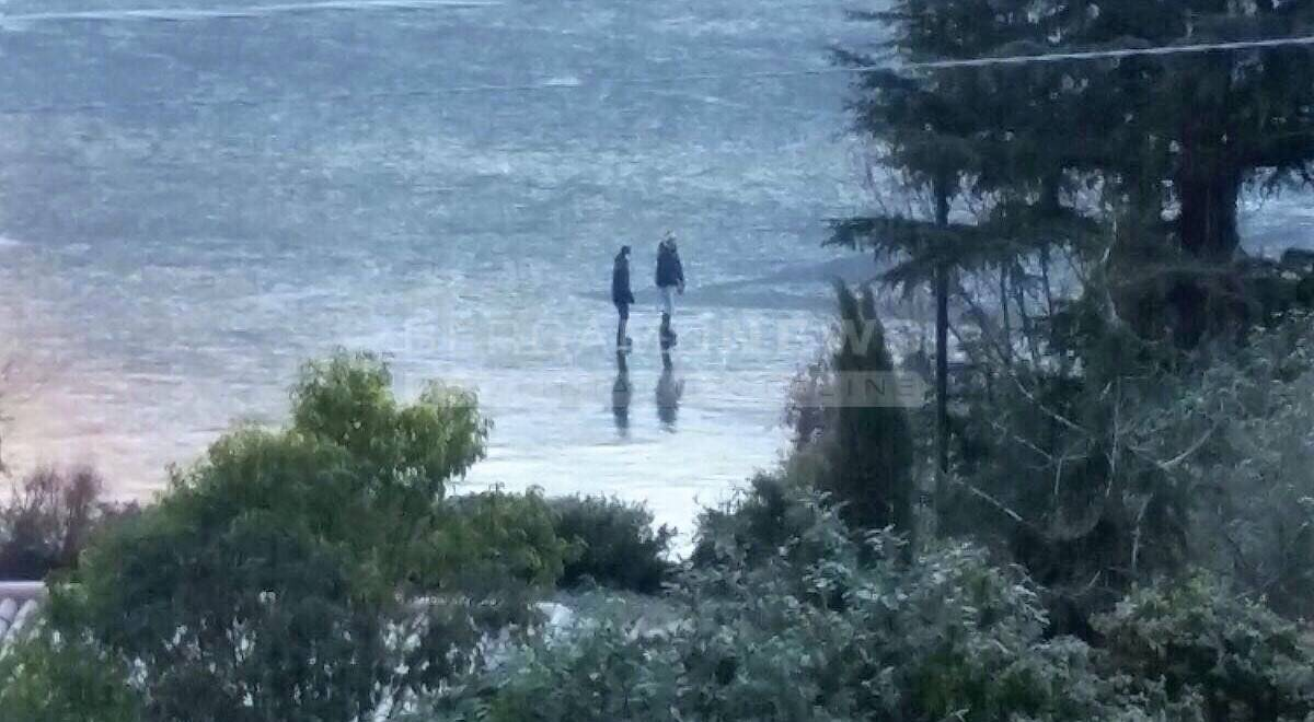 Pattinaggio sul lago