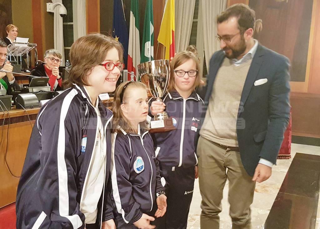 """Premiazione """"Atleta bergamasco dell'anno 2016"""""""