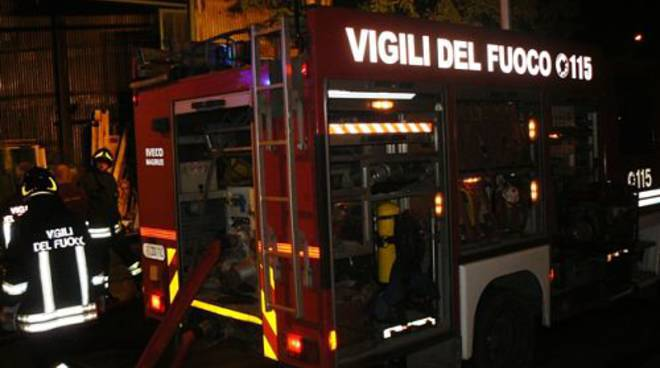 vigili del fuoco notte