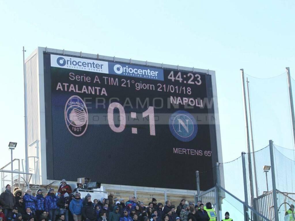 Atalanta-Napoli, il film della partita