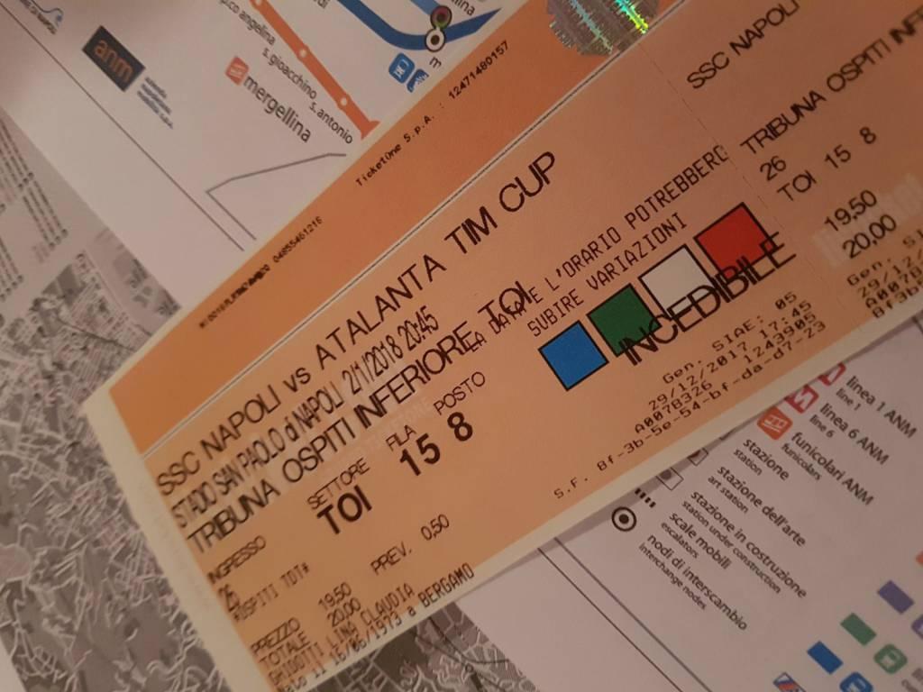 biglietti napoli atalanta