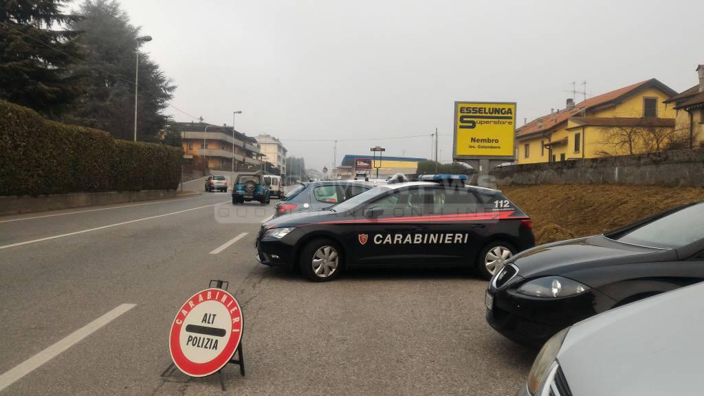 Controlli dei carabinieri a Clusone