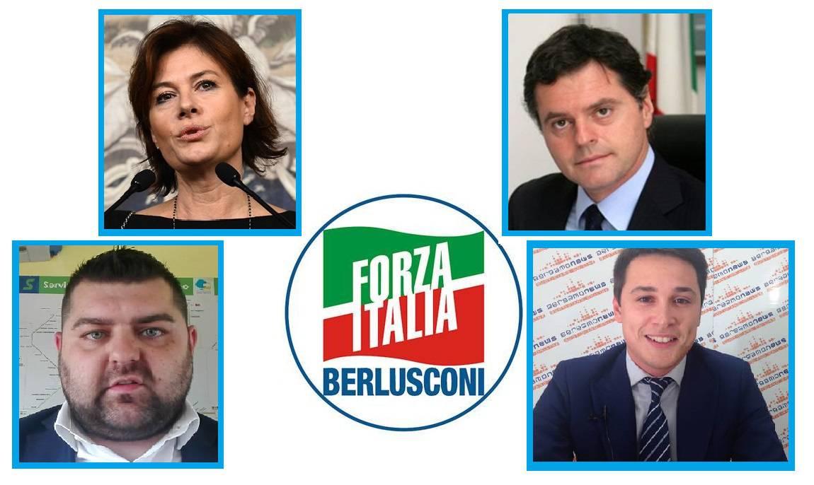 Bergamo e provincia ecco i candidati di forza italia alla for Forza italia deputati