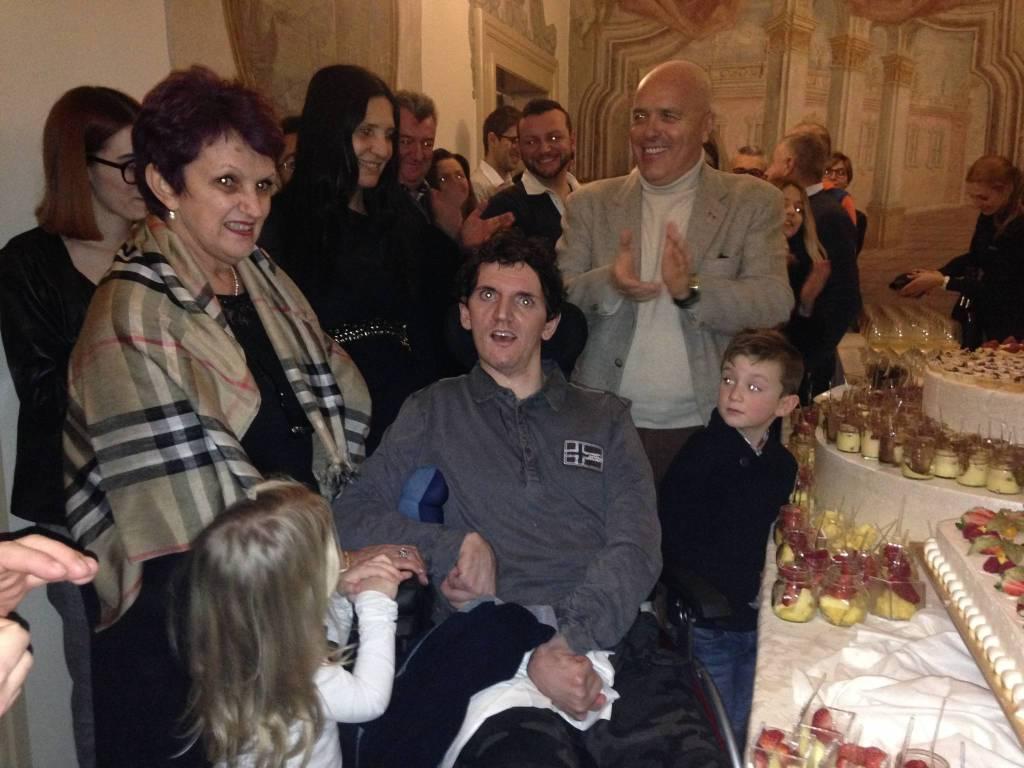 Giorgio Grena festeggia i 30 anni