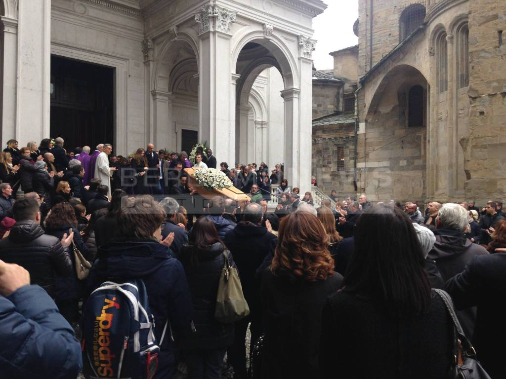 I funerali di Silvio Albini