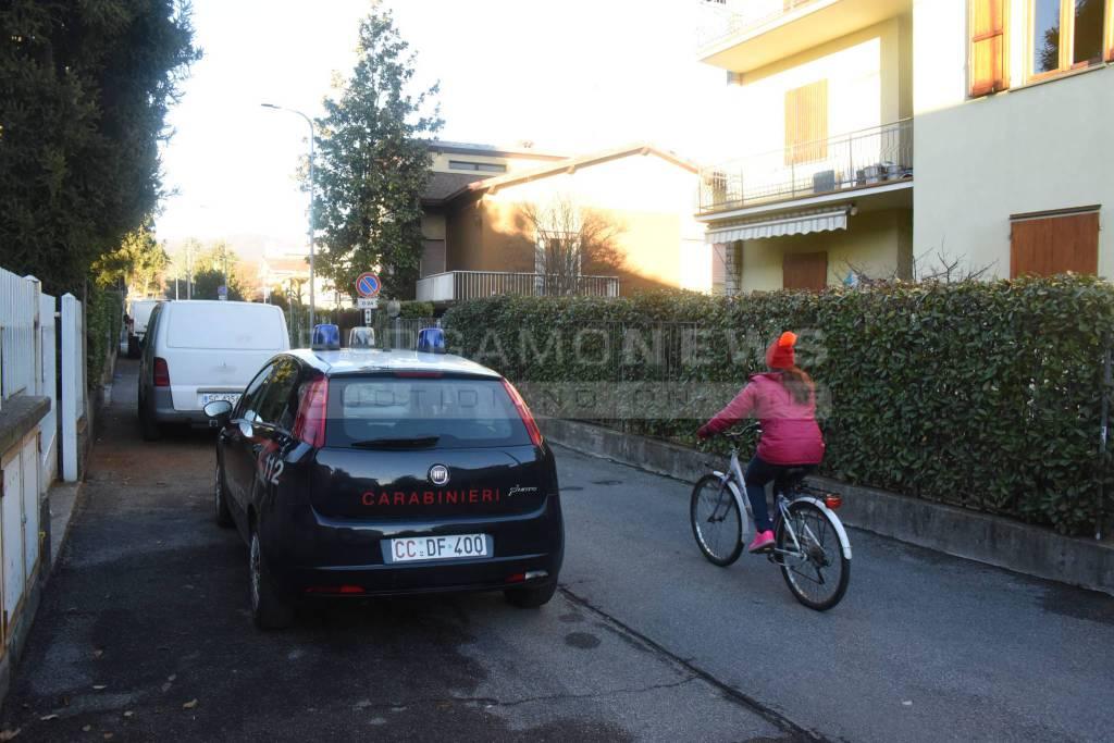 Rissa a Gorle: intervengono i carabinieri